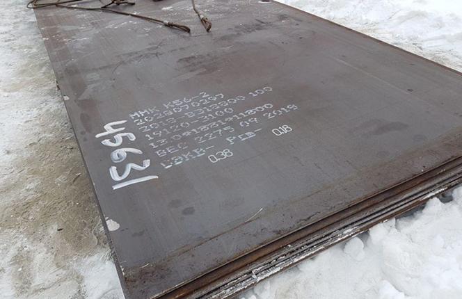 Лист сталь С345, Лист сталь С355